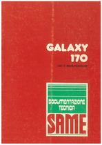 GALAXY 170 - Libretto uso & manutenzione