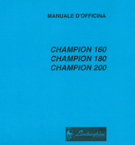 CHAMPION 160 - CHAMPION 180 - CHAMPION 200 - Manuale d'officina
