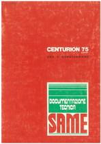 CENTURION 75 EXPORT - Libretto uso & manutenzione