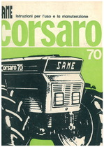 CORSARO 70 - Libretto uso & manutenzione