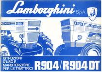 R 904 - R 904 DT - Libretto uso & manutenzione