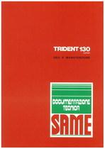 TRIDENT 130 EXPORT - Libretto uso & manutenzione