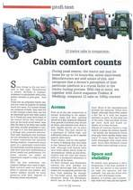 Cabin comfort counts