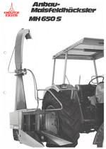 ANBAU-MAISFELDHÄCKSLER MH 650 S