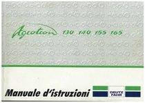 AGROTRON 130-140-155-165 - Libretto Uso & Manutenzione