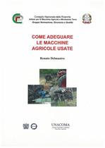 DALMASTRO Renato, Come adeguare le macchine agricole usate, Roma, Edizioni Unacoma service, 2006
