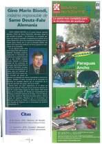 Gino Mario Biondi maximo responsable de SAME Deutz-Fahr Alemania