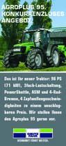 AGROPLUS 95. / KONKURRENZLOSES / ANGEBOT