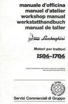 MOTORE PER TRATTORI 1506 TURBO - 1706 TURBO - Manuale d'Officina
