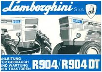 R 904 - 904 DT Gebrauch und Wartung
