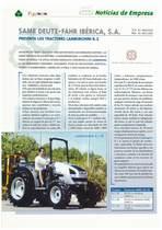 SAME Deutz-Fahr Ibérica , s.a presenta los tractores Lamborghini R.1