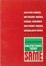 MOTORI DIESEL serie LP - P - PT - Libretto uso e manutenzione / Moteurs Diesel Utilisation et entretien / Diesl Engines Operating and maintenance / Motores Diesel Uso y manutencion / Dieselmotoren Bedienung und instandhalthung