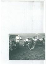 Prove in campo in Danimarca del trattore SAME Centauro