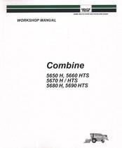 COMBINE 5650 H - 5660 HTS - 5670 H - 5670 HTS - 5680 H - 5690 HTS - Workshop manual