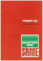 TRIDENT 130 EXPORT - Bedienung und wartung