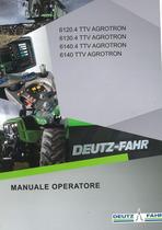 6120.4 TTV AGROTRON - 6130.4 TTV AGROTRON - 6140.4 TTV AGROTRON - 6140 TTV AGROTRON - Manuale operatore
