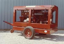 Motore ADIM per gruppo elettrogeno PERIN su carrello