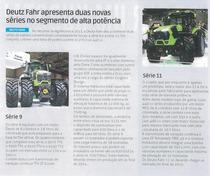 Deutz-Fahr apresenta duas novas séries no segmento de alta potencia