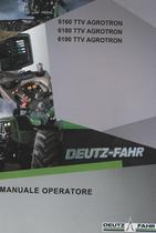 6160 TTV AGROTRON - 6180 TTV AGROTRON - 6190 TTV AGROTRON - Manuale operatore