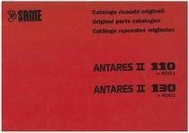 ANTARES II 110-130 da n. 4001 - Catalogo Parti di Ricambio / Spare parts catalogue / Catálogo peças originais