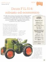 Deutz F1L 514: robusto ed economico