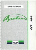 AGROTRON 215-265 - Libretto Uso & Manutenzione