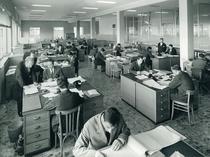 Stabilimento Same - Impiegati al lavoro presso uffici amministrativi