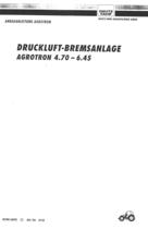 DRUCKLUFT-BREMSANLAGE AGROTRON 4.70-6.45 - Anbauanleitung