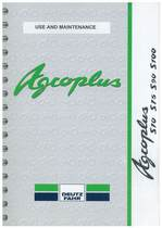 AGROPLUS S 70-75-90-100 - Use and maintenance