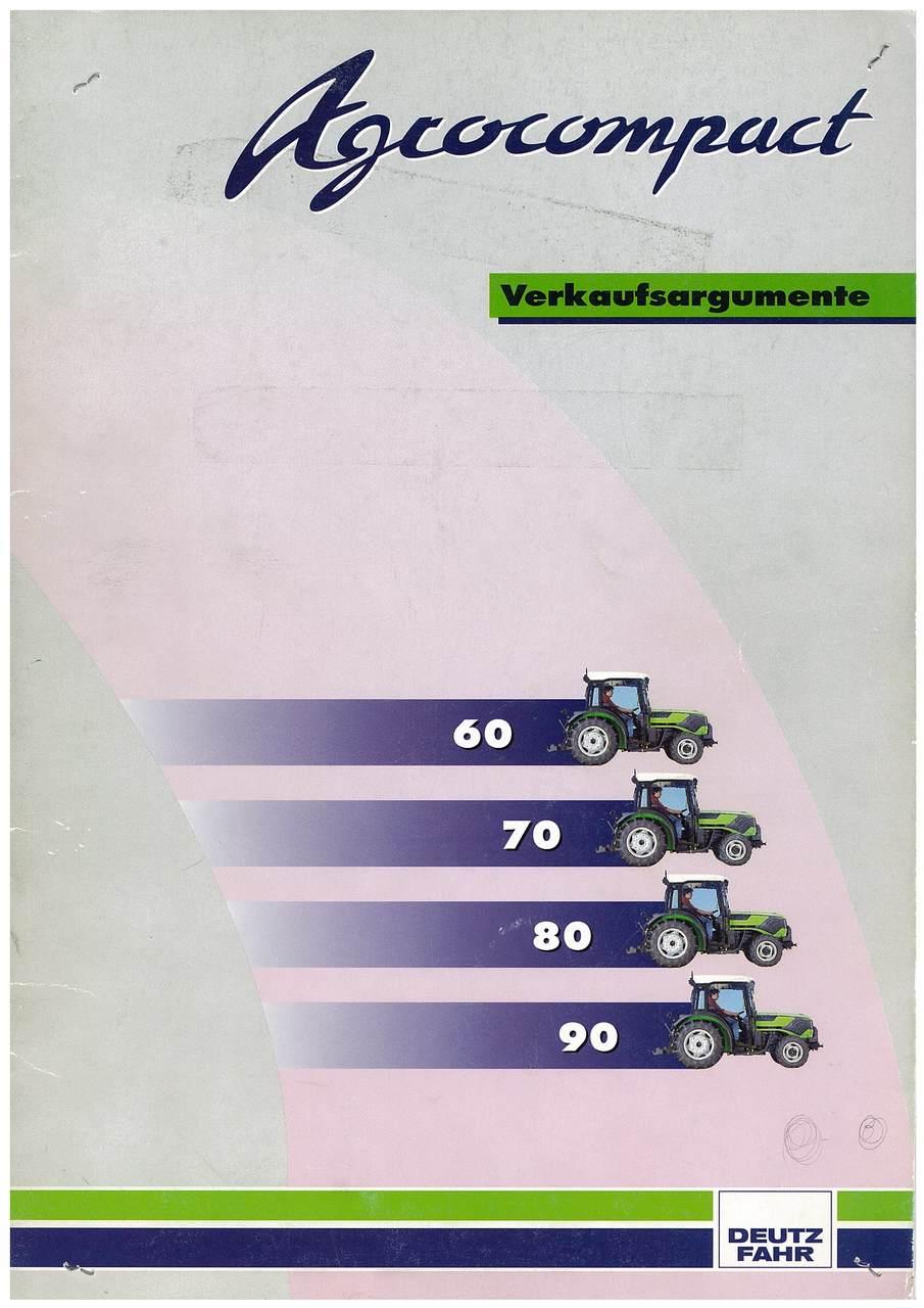 Agrocompact - Verkaufsargumente - 60-70-80-90