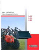 Same front loaders. The professional' choice