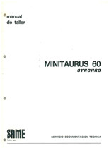 MINITAURUS 60 SYNCRHO - Manual de Taller