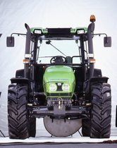 [Deutz-Fahr] trattore Agroplus 85 in studio fotografico