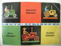 DEUTZ-SCHLEPPER - Universal - Acker - Strassen Schlepper