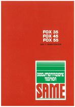 FOX 35 - 45 - Uso y manutencion