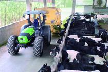[Deutz-Fahr] trattore Agrofarm 85 in studio e al lavoro