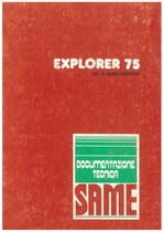 EXPLORER 75 - Libretto uso & manutenzione