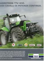 Agrotron TTV 630. 220 Cavalli di potenza continua
