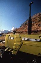 [Hürlimann] trattore H 480 in una località di montagna