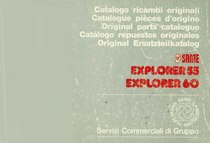 Trattore modello EXPLORER 55 - 60 - Catalogo Parti di Ricambio / Catalogue de pièces de rechange / Spare parts catalogue / Ersatzteilliste / Lista de repuestos