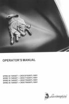 SPIRE 60 TARGET ->ZKDCS70200TL10001 - SPIRE 70 TARGET ->ZKDCT10200TL10001 - SPIRE 80 TARGET ->ZKDCT50200TL10001 - SPIRE 85 TARGET ->ZKDCT90200TL10001 - Operator's manual