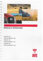 VIRTUS 100 - VIRTUS INFINITY 100 - VIRTUS 110 - VIRTUS INFINITY 110 - VIRTUS 120 - VIRTUS INFINITY 120 - Manuale operatore
