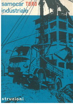 SAMECAR TORO INDUSTRIALE - Libretto manutenzione uso & manutenzione