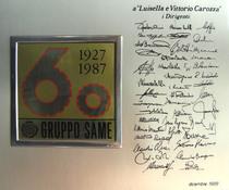 1927 - 1987 - 60 anni Gruppo Same