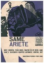 ARIETE - Operating and maintenance