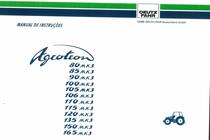 AGROTRON 80-85-90-100-105-106-110-115-120-135-150-165 MK3 - Manual de instruçoes