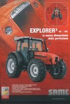 EXPLORER 3 85 - 100 la nuova dimensione della perfezione
