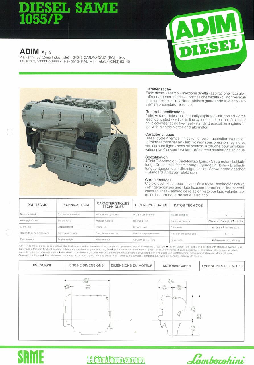 Motore 1055/P