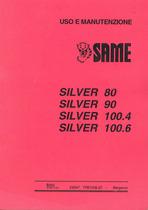 SILVER 80 - 90 - 100.4 - 100.6 - Uso e manutenzione