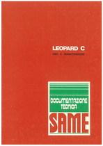 LEOPARD C - Libretti uso & manutenzione
